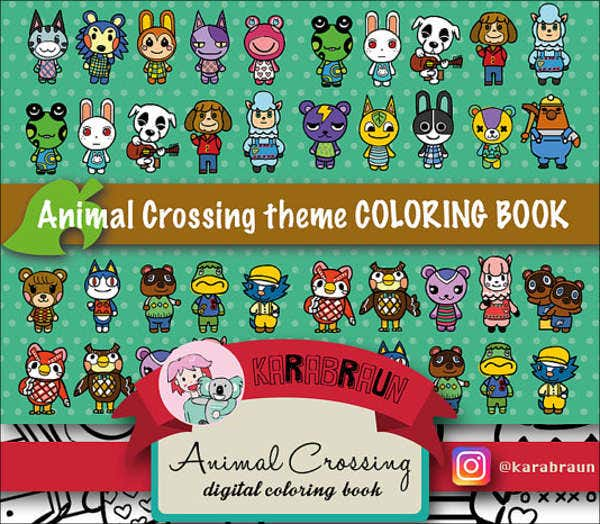 cartoon-animal-coloring-page-template