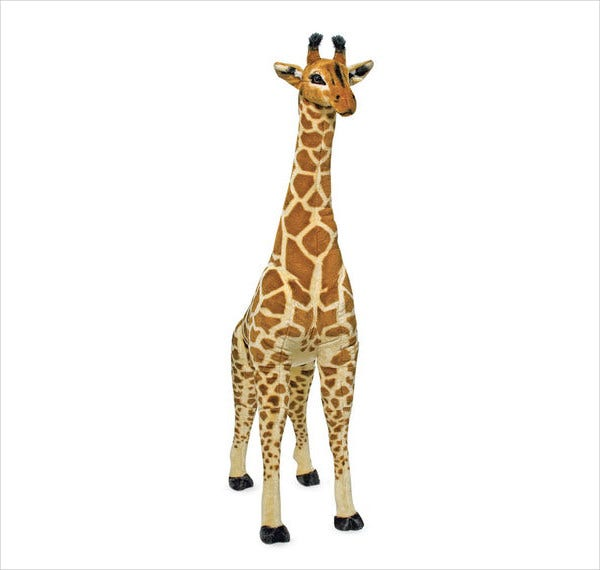 Giraffe Stuffed Animal Template