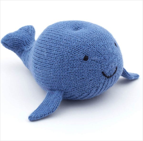 Whale Stuffed Animal Template