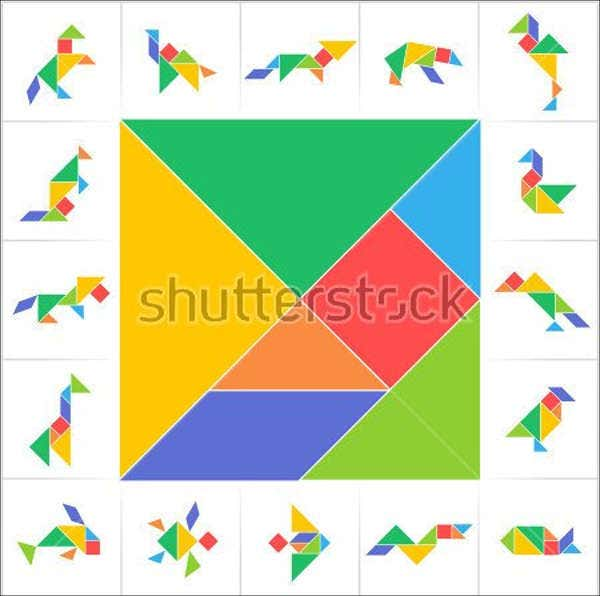 printable-geometric-animal-template