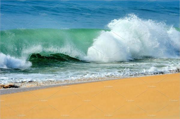 Beach Wave Texture