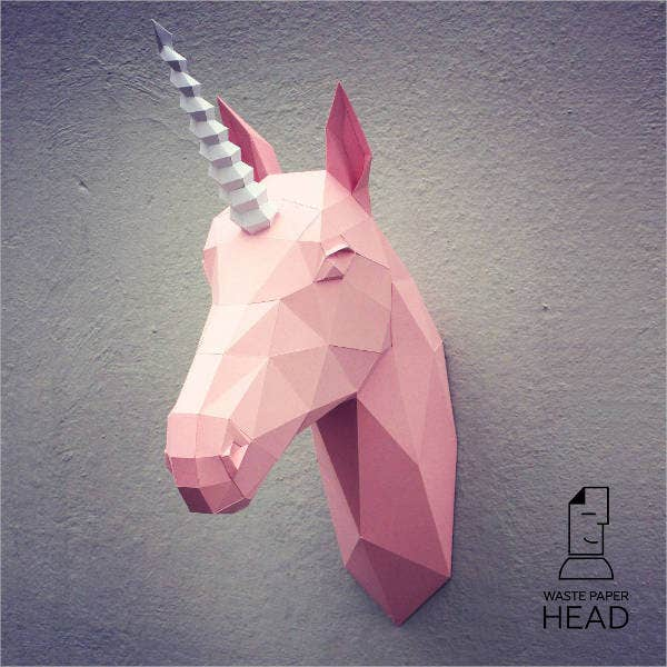 papercraft-animal-head-template