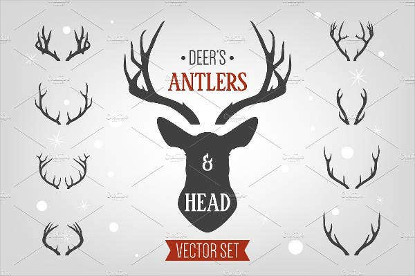 vector-animal-head-template