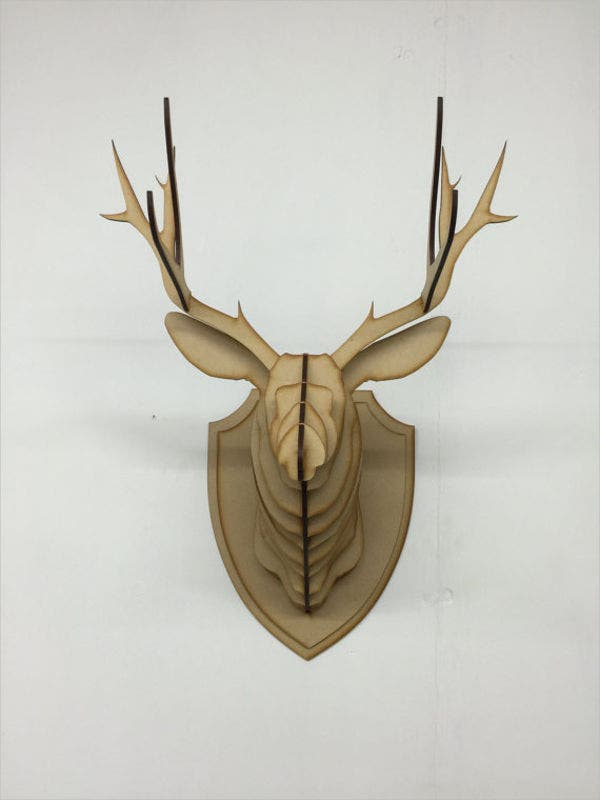 wood-animal-head-template