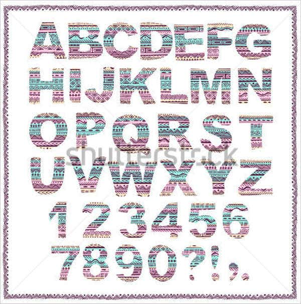 hand-drawn-tribal-alphabet-letters