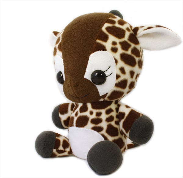 6 giraffe animal templates free printable crafts for Stuffed animal templates free