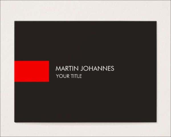 professional-business-name-card