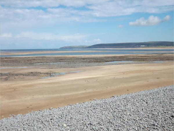 Dry Beach Pebbles Texture