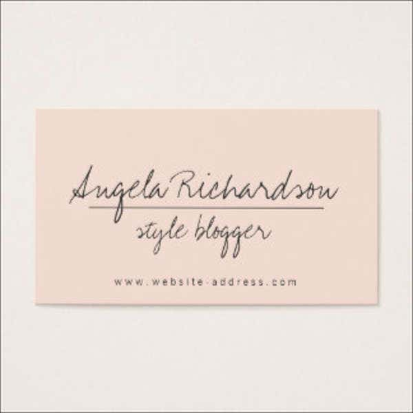 unique professional name card