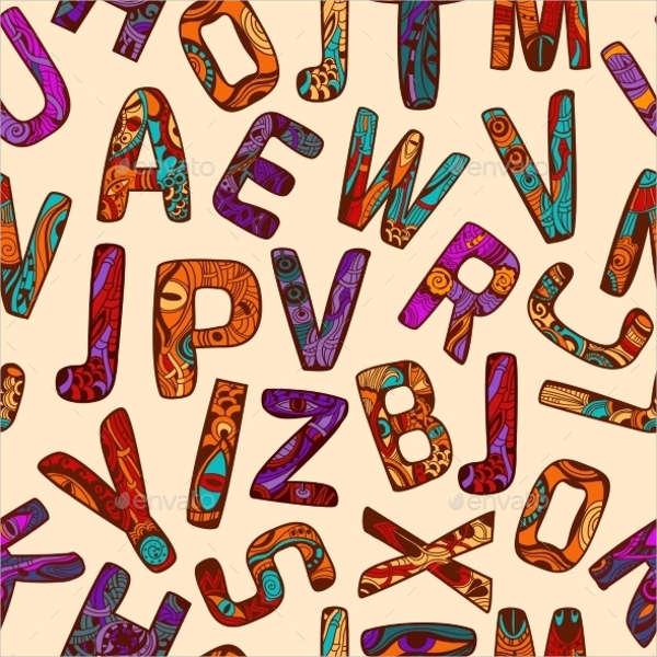 free-tribal-alphabet-letters