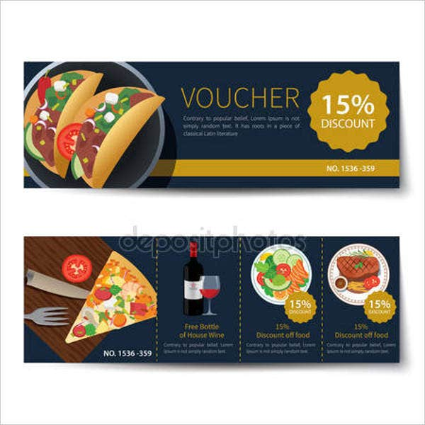 dinner-and-drink-voucher-template