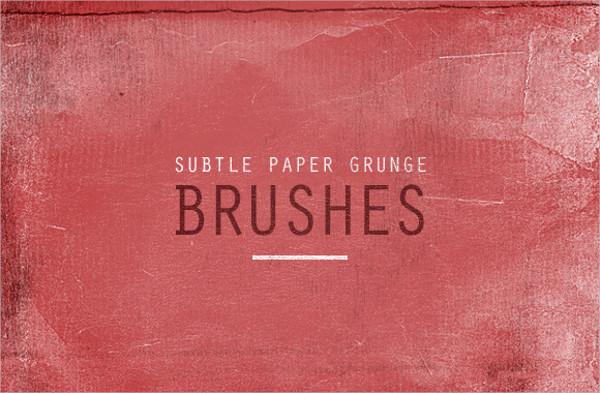 Grunge Paper Brushes