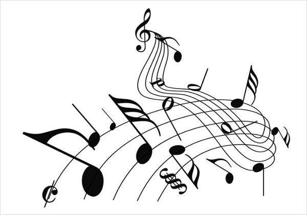 high quality music note brushes