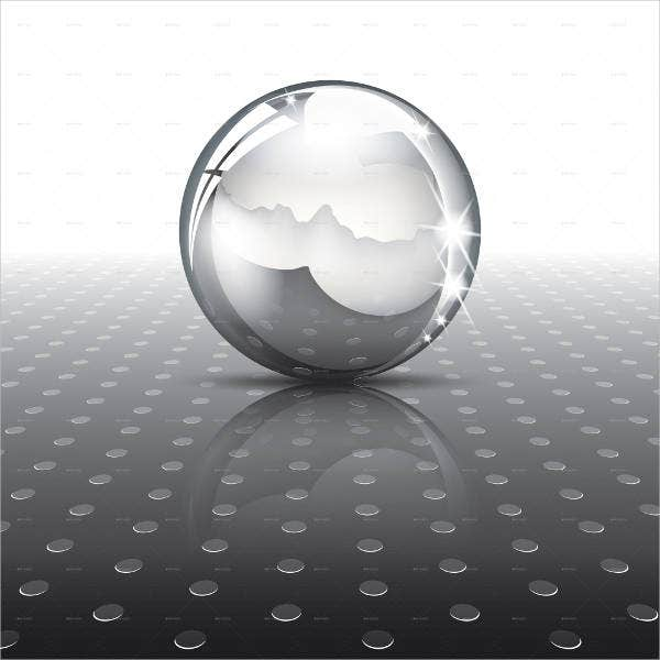 Metal Ball Texture