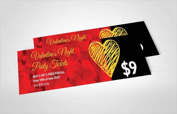 valentines-dinner-voucher-template