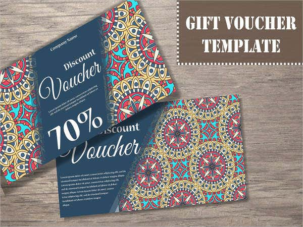 vintage sale voucher template
