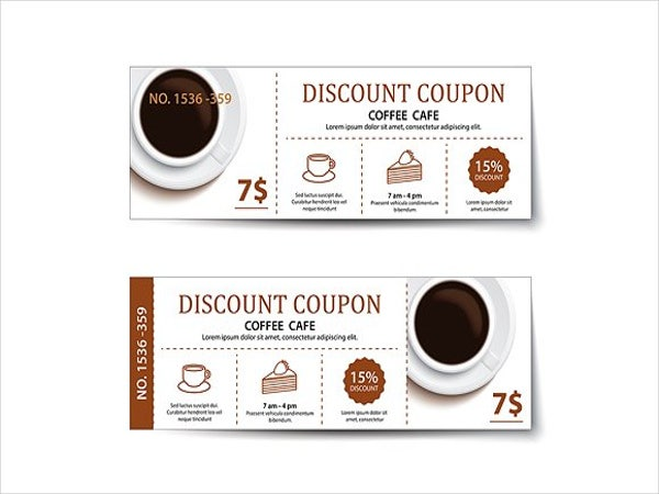 vintage drink voucher template