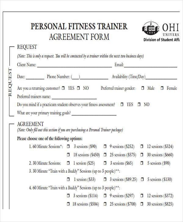 personal trainer email signature
