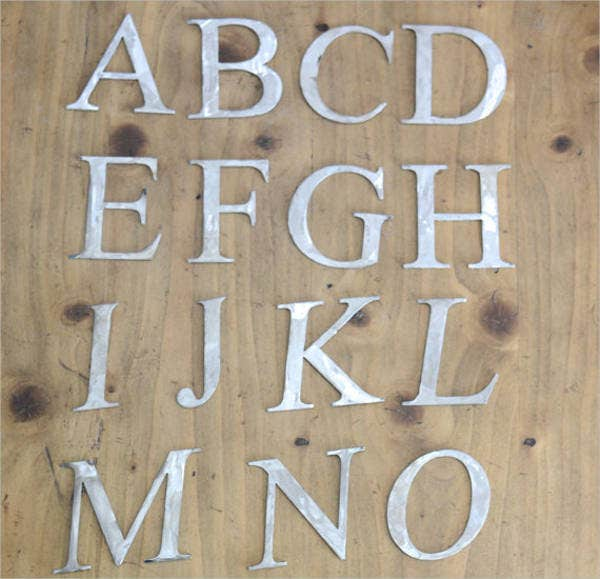 decorative-metal-alphabet-letter