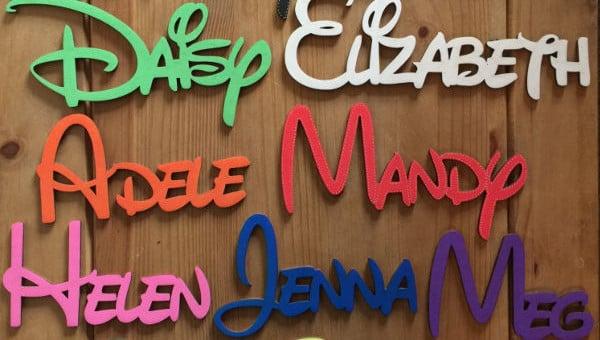 7+ Disney Alphabet Letters - Free PSD, EPS, Format Download ... on