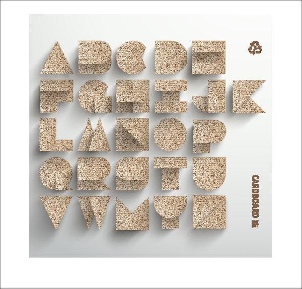 diy-cardboard-alphabet-letter