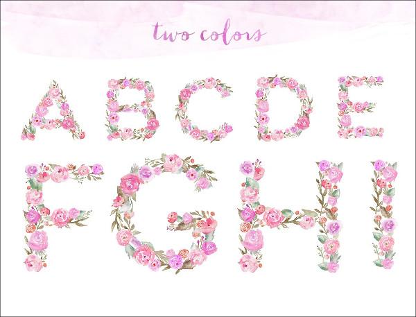 floral-cardboard-alphabet-letter