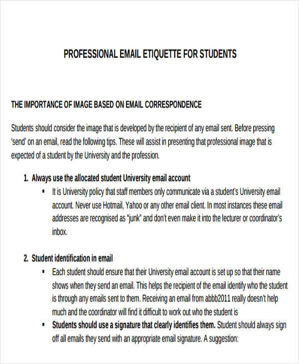 8 personal e mail signature free premium templates