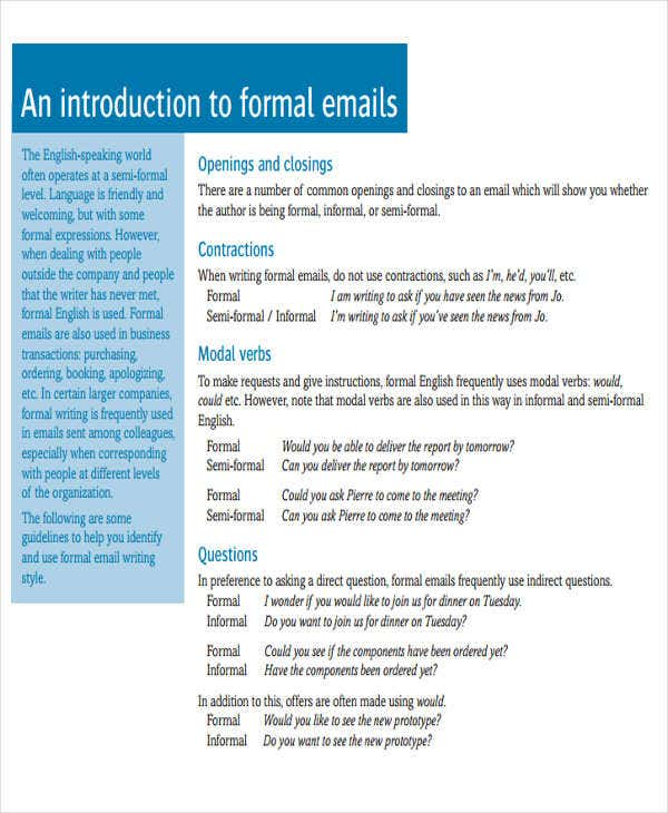 8 formal e mail templates free psd eps ai format download formal introduction e mail maxwellsz