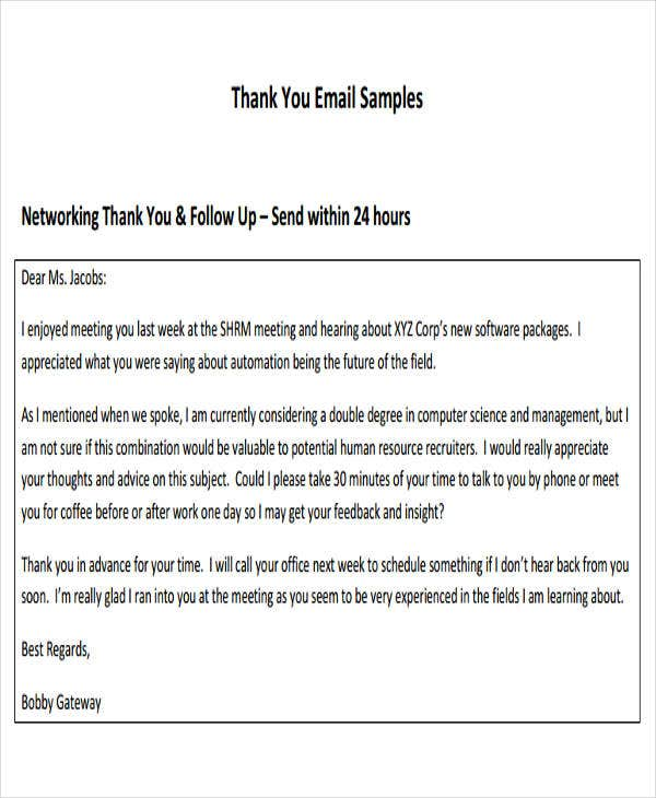 formal email example 8 formal e mail templates free psd eps ai format 15368 | Formal Thank you Email Template