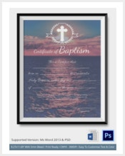 baptism-certificate-premium-template