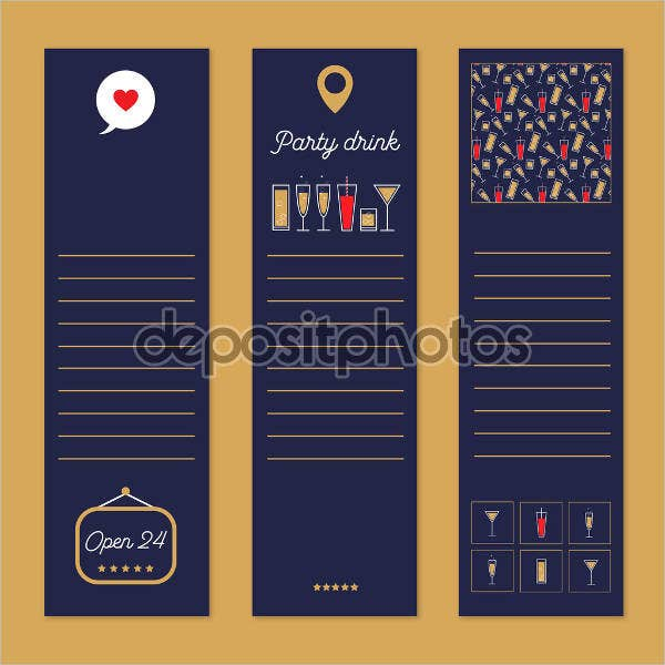 printable drink voucher template