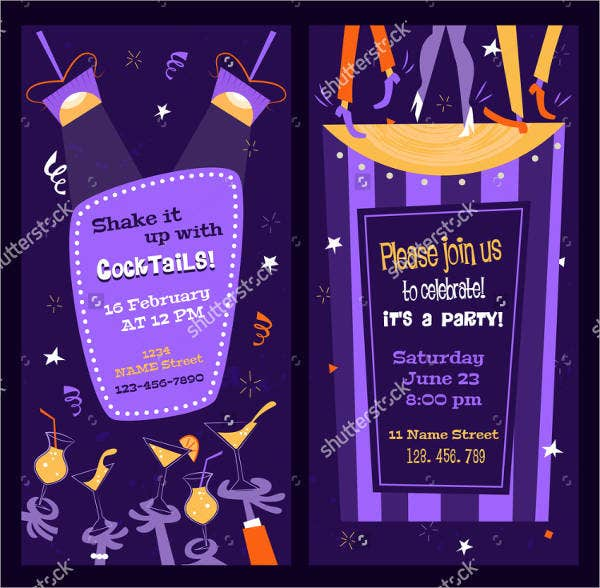 personalized drink voucher template