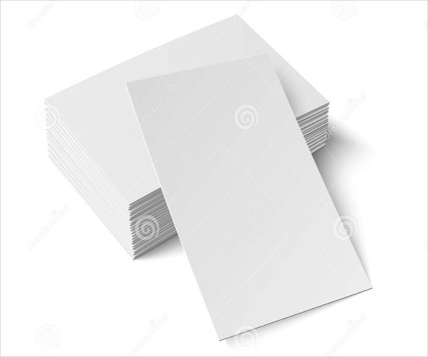 9  blank place cards