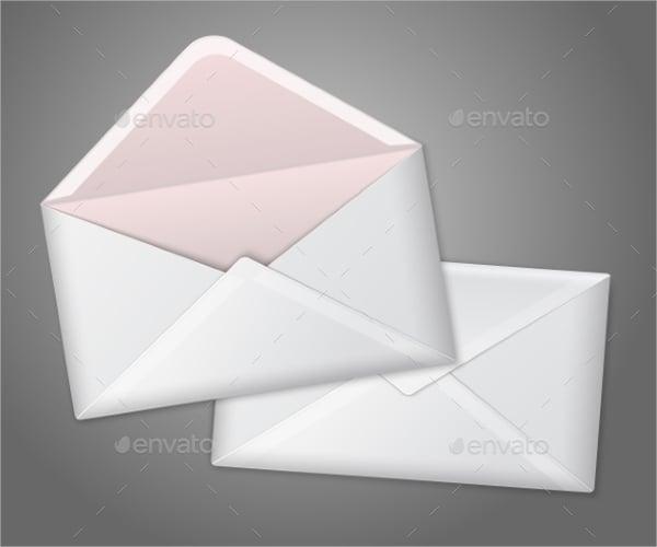 blank folded place card
