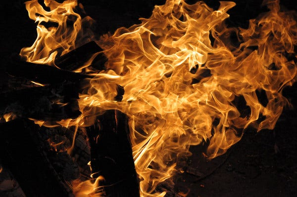 Fire Texture for Photoshop
