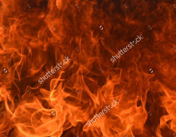 realistic fire texture