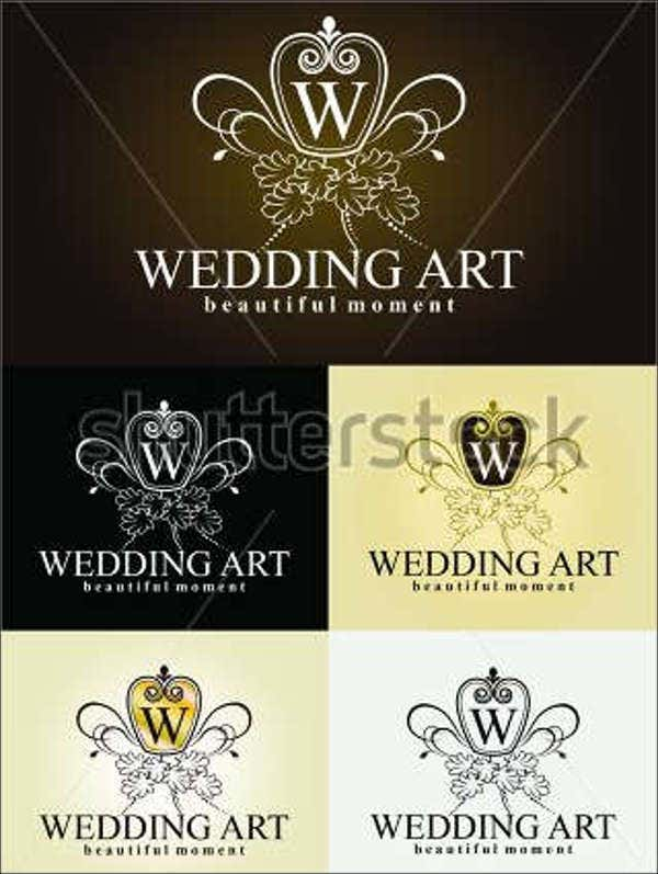 modern wedding planner logo1
