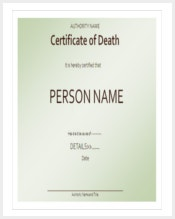 certificate-of-death-template