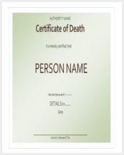 certificate-of-death-template