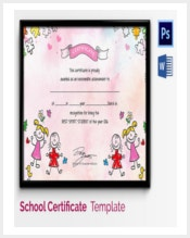 achievement-award-template-for-school-kids