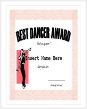 best-dancer-award-funny-certificate-template