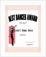 best-dancer-award-funny-certificate-template