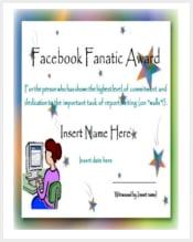 facebook-fanatic-award-funny-certificate-template