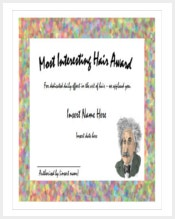 most-interesting-hair-award-funny-certificate-template