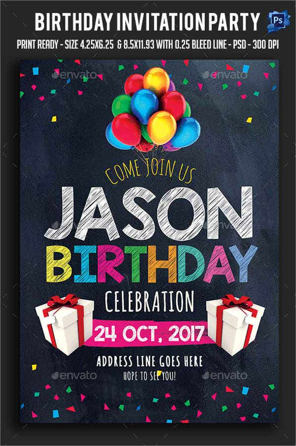7+ Birthday Layout Templates - Free PSD, EPS Format Download! | Free ...