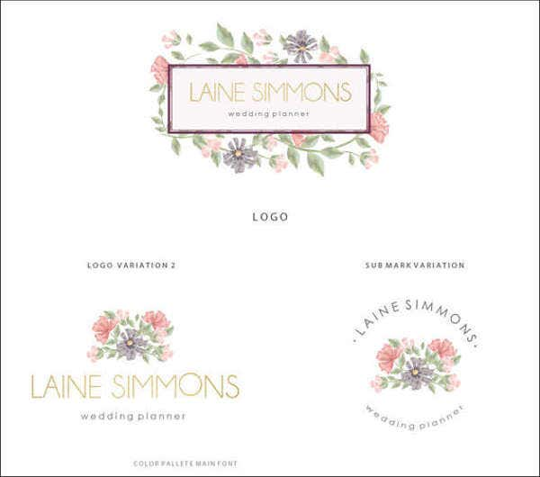 personalized wedding planner logo2