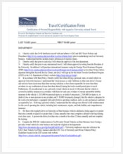 simple-travel-certification-form-free-download