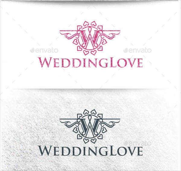 vintage wedding service logo1