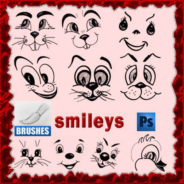 Photoshop Smile Brushes