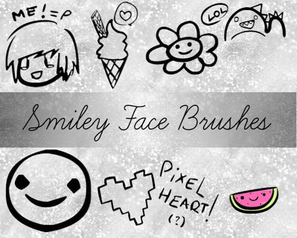 smile-face-brushes